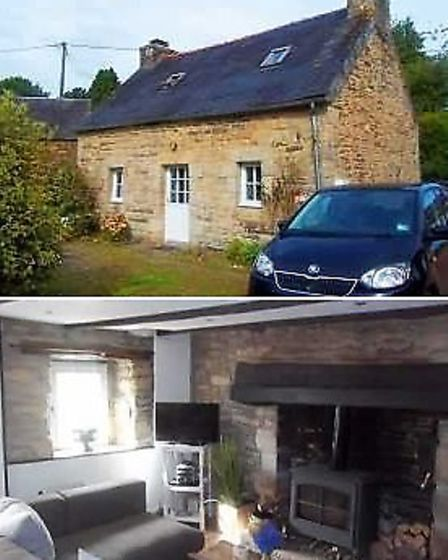 Cottage for sale in the Armorique regional park with JB French Houses