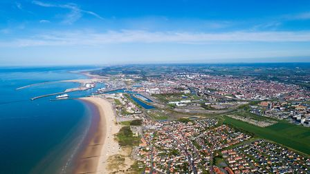 Aerial view of Calais (c) Altitude Drone/Getty Images