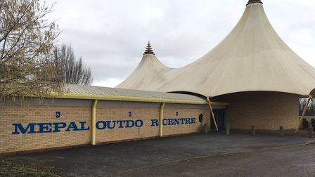 A look inside Mepal Outdoor Centre during the event which saw 200 ravers gain entry to the abandoned