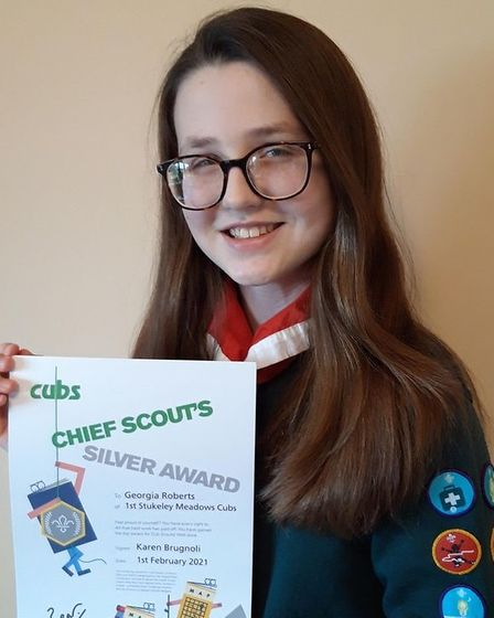 Cambs scout certificate