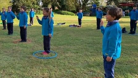 Cambs scouts beavers