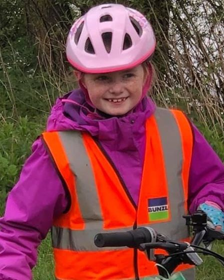 Cambs scout cyclist