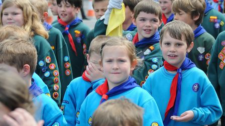 A #GoodForYou campaign has been launched to recruit over 150 scout volunteers in Norfolk.