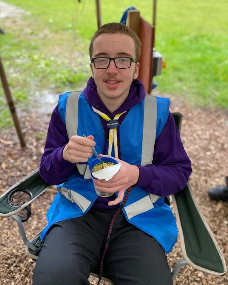 Jackan explorer scout young leader from Norwich.