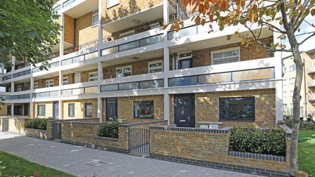 Another 16 homes created out of old garages in Bow Common