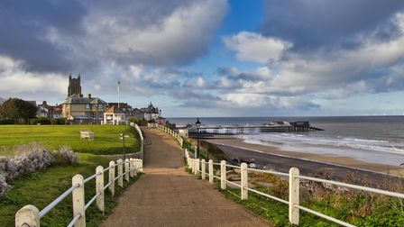 A view of Cromer. There has been strong demand for property along the north Norfolk coast as well as