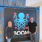 Emma and David Moore owners of the planned Putt Noodle
