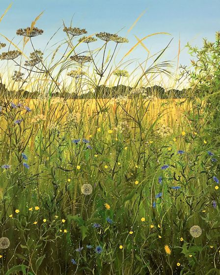The paintings of Ruth Simpson will be on display as part of Suffolk Open Studios 2021