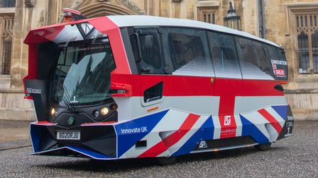 Self-driving shuttles capable of carrying passengers will take to the roads alongside traffic in Cambridgeshire