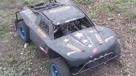 This remote control car was stolen from a shed in Beccles