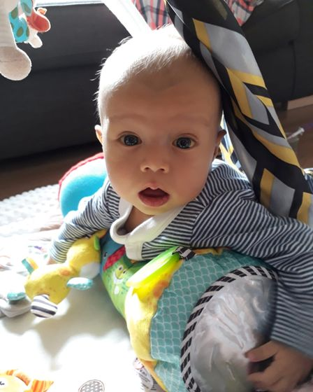 Noah Finnerty died a week short of turning six months old