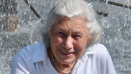 Vera Croghan, aged 89, who died in a fire at her home on Unthank Road Norwich