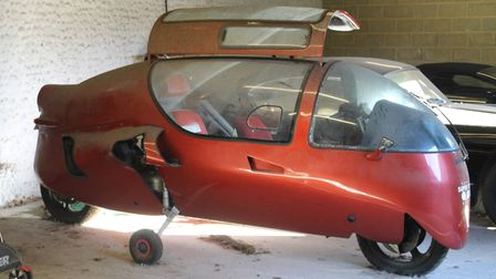 The Ecomobile being sold by Rowley's Auction House in Ely, Cambs