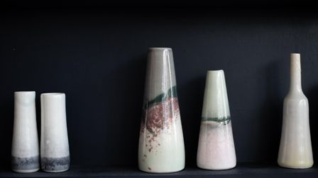 Some of Nancy Main's ceramics. Picture: Sarah Lucy Brown