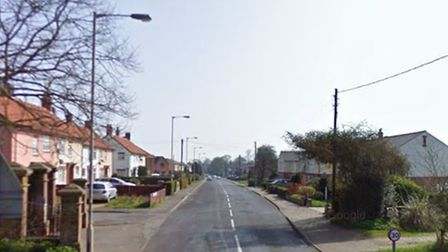The crash in Leiston took place in Waterloo Avenue.