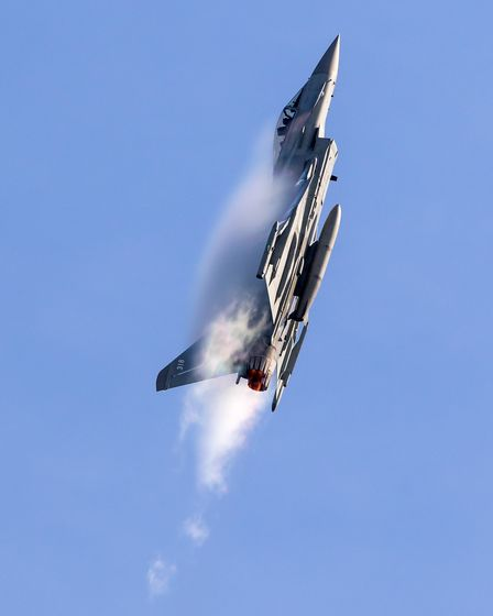 Cover your ears - the Typhoon is heading to the Old Buckenham Airshow this summer Photo: Paul Johns