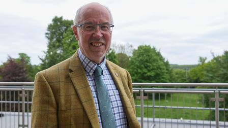 Martin Wilby, Norfolk County Council Member for Highways, Infrastructure and Transport. Picture: Dan