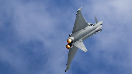 The Typhoon FGR4 will be making its debut at this year's Old Buckenham Air Show