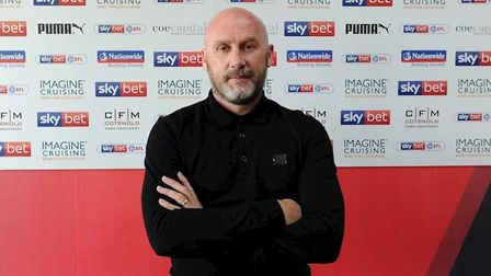 John McGreal is the new manager of Swindon Town