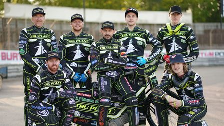 The 2021 Ipswich Witches, together for the first time ahead of the meeting against Sheffield.