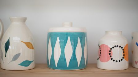 Pottery by Victoria Reed of Hadleigh