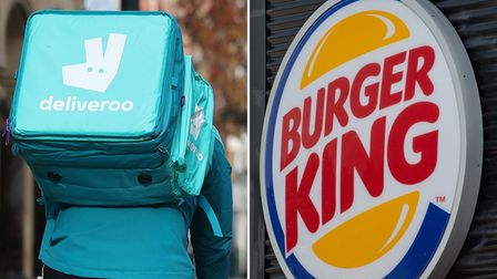 According to Deliveroo, Ely residents can't get enough of Burger King.