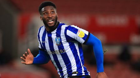 Sheffield Wednesday's Chey Dunkley during the Sky Bet Championship match at the Bet365 Stadium, Stok