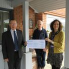 Newmarket Rotary raised £5,000 for the Macmillan Cancer unit at West Suffolk Hospital