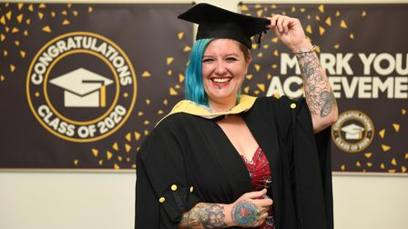 Lisa Alexander has graduated with a BA (Hons) degree in Counselling