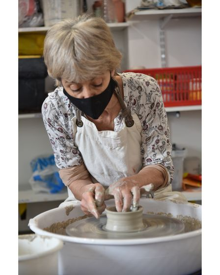 Fire and Flux on Lower Goat Lane is a ceramics studio. The owners also host pottery classes and rent