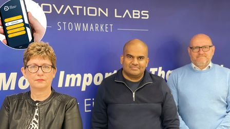 The CAP Certified team at Innovation Labs in Stowmarket.