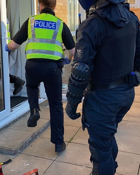 Nothing stood in the way of a major police operation across Cambridgeshire to halt the influx of drugs