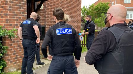 Nothing stood in the way of a major police operation across Cambridgeshire to halt the influx of drugs,