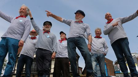 The launch took place at Brightlingsea Harbour today