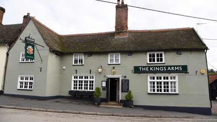 The Kings Arms in Haughley
