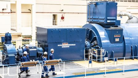 The Turbine Hall at Sizewell B Picture: SARAH LUCY BROWN