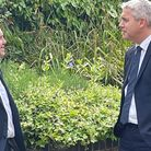 Steve Barclay becomes first Cambridgeshire MP to pay a house call on new mayor Dr Nik Johnson.
