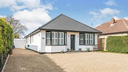 The four bedroom bungalow in Rushmere St Andrew was one of the most viewed properties in Suffolk this month