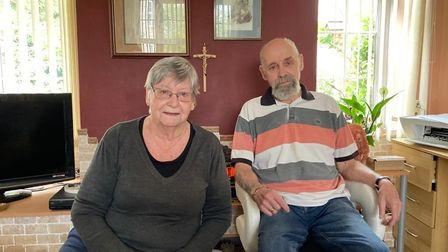 Janet and Peter Walker, 74 and 75,