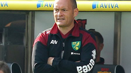 Norwich manager Alex Neil during the Barclays Premier League match at Carrow Road, Norwich. Picture