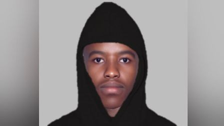 Police have released an efit image of the man they want to speak to about the fraud