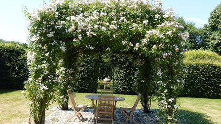 Wenhaston Grange is one of the many properties opening its gardens this summer via the National Garden Scheme