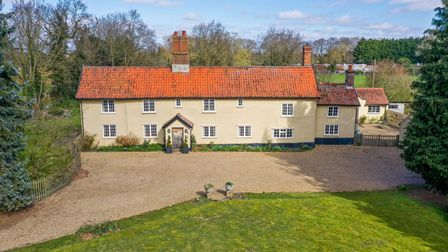 Chequers in Brome, near Eye, is on the market with Jackson-Stops with a guide price of £895,000