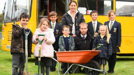 Peterhouse primary school, in Gorleston is planning a new kitchen garden and farm complete with hors