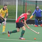 Norwich Dragons IIs man-of-the-match Ben Watson on the ball against Newmarket. Picture: SUBMITTED