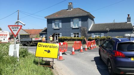 A man's Holt home has been hit by a three cars in 20 years with the latest smashing through his front room this morning.