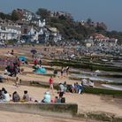 Crowds flocked to Felixstowe to soak up the sun on Bank Holiday Monday. Picture:Sarah Lucy Brown