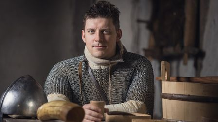 Lewis Kirkbride will play the role of Hereward the Wake