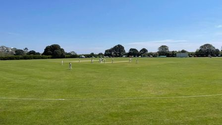 Sun finally comes out for Exmouth cricket