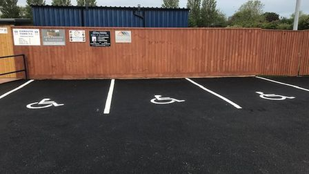 Exmouth Town disabled parking